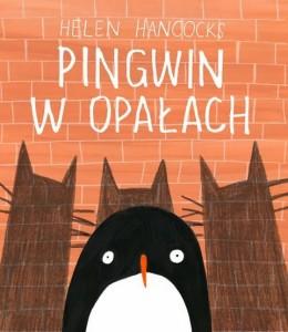 Książka Pingwin w opałach, wydawnictwo Łajka, dystrybucja Jacobsony